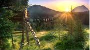 Viehbergalm Sonnenaufgang 3972