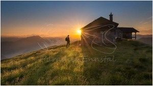 Schutzhütte_Pleschnitzzinken_Sonnenaufgang_Alpenverenshuette
