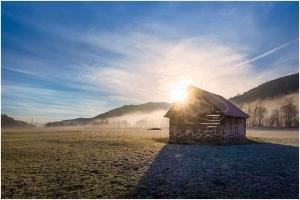 Tunzendorf Sonnenaufgang 5847
