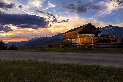 Gelsenberg, Sonnenuntergang, mystisch, Wolken